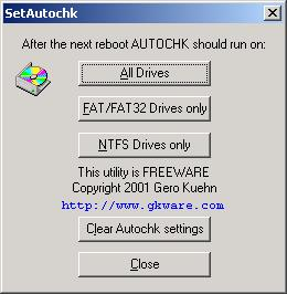 SetAutoChk Screenshot